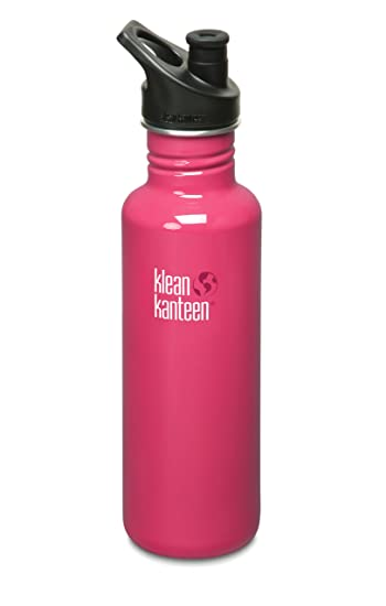 Amazon.com: Botella de acero inoxidable Klean Kanteen, con ...