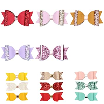Bunny ear pigtail clips pastel