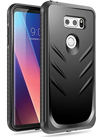 Poetic LG V30/LG V30 Plus/LG V30S ThinQ/LG V35/LG V35 ThinQ Case, Revolution[360 Degree Protection] Full-Body Rugged Heavy Duty Case ...