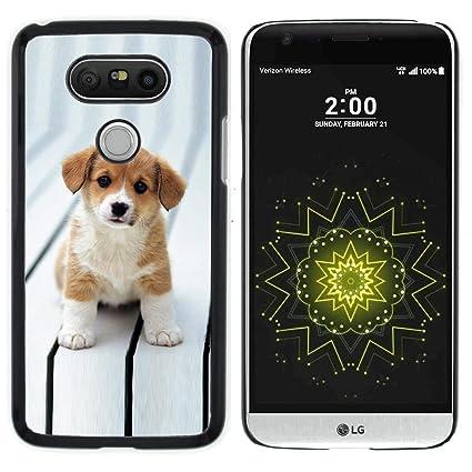 Amazon.com: STPlus perro carcasa rígida para LG G5, #4: USA ...