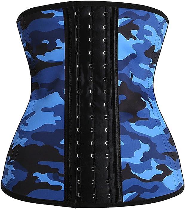 66a0338718c Women s Steel Boned Latex Underbust Waist Trainer Corset Cincher Shaper.  Killreal Women s Latex Shapewear Girdle Belt for Women Body Control Shaper  Corset ...