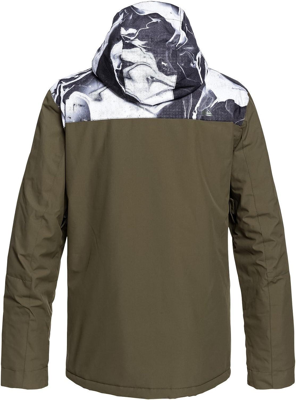 QUIKSILVER Mens Mission Block 10k Snow Jacket