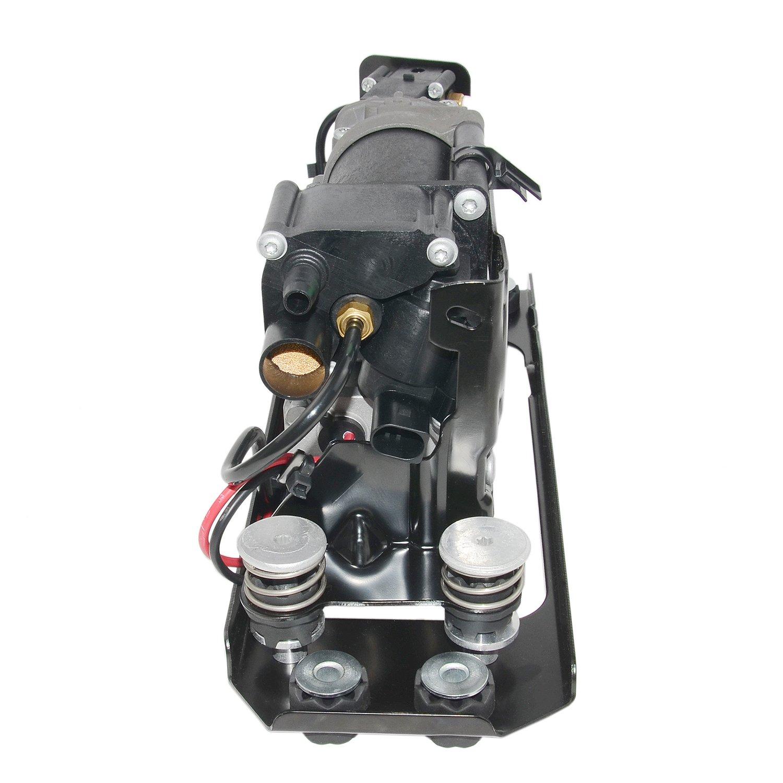 Sospensione pneumatica compressore e valvola di blocco