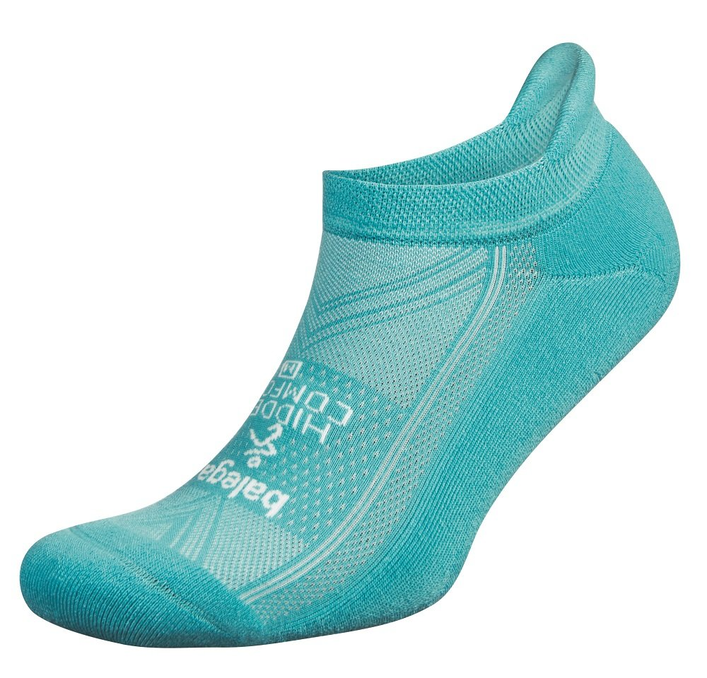 Balega Hidden Comfort No-Show Running Socks for Men and Women (1 Pair), Blue Radiance, Medium