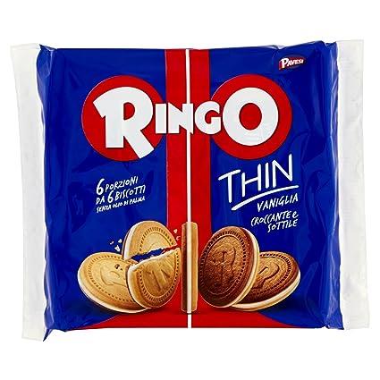 Pavesi Biscotti Ringo Thin Vaniglia, 234 gr Amazon.it Alimentari e cura  della casa
