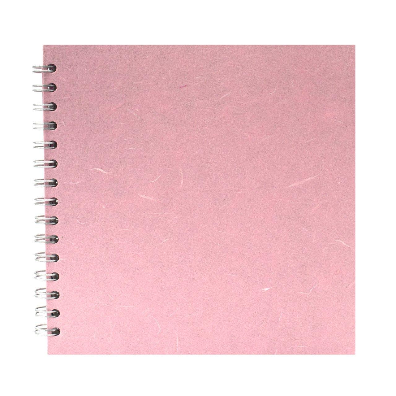 Blocco da disegno carta bianca motivo: Posh Banana Pig 20 x 20 cm Pink Pig colore: Azzurro cielo