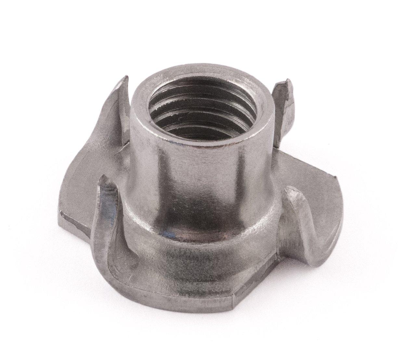 SD Products Ptn1012st-104à griffes T-nut, Acier inoxydable, M10x 12mm, lot de 10pièces M10x 12mm lot de 10pièces SD Products Ltd