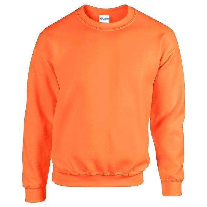Unisex Jersey Jumper Gildan Heavy Blend Adult Crew Neck Men/'s Plain Sweatshirt