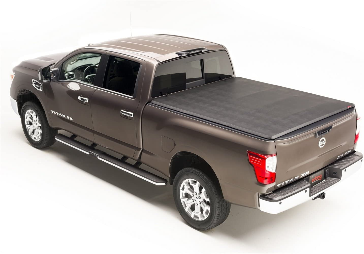 Made In The Usa Fits 2004 2015 Nissan Titan W Out Rail System 5 5 Bed 59504 Gator Etx Soft Tri Fold Truck Bed Tonneau Cover Truck Bed Tailgate Accessories Tonneau Covers