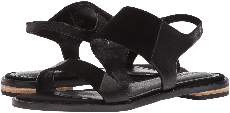 Kelsi Dagger Brooklyn Women's Rogan Flat Sandal B076XHQY9S 9.5 B(M) US Black
