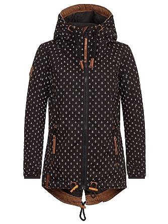 151bf3acf51de1 Naketano Damen Jacke Herr Schlapp Von Schwanz Jacket: Amazon.de: Bekleidung