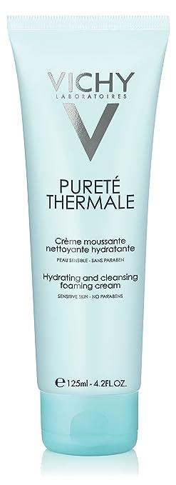 Vichy Pureté Thermale Crema Hidratante De Espuma Limpiador Facial Y Removedor De Maquillaje Con Vitamina B5 Para Limpiar Y Eliminar Impurezas Premium Beauty