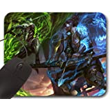 Mousepad Genji VS Hanzo OW - Tapis de Souris Overwatch
