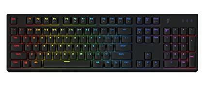 3fffd5af3cc Tesoro Gram Spectrum Low Profile G11SFL Red Mechanical Switch Single  Individual Per Key Full Color RGB