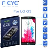 F-EYE® LG G3 Tempered Glass with 2.5d Round Edge - 0.33mm Thickness