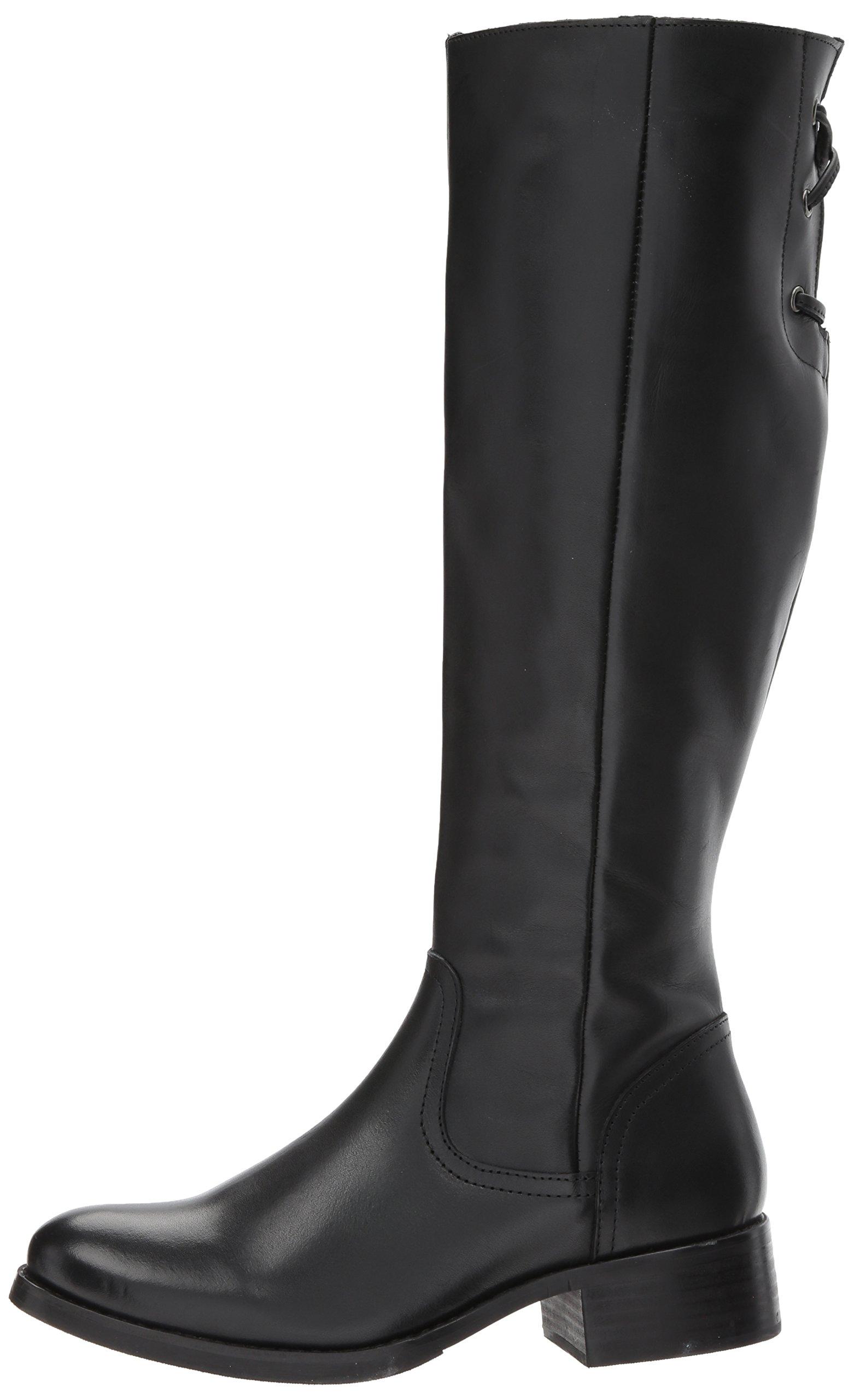 Steve Madden Women's Lover Western Boot, Black Leather, 8.5 M US by Steve Madden (Image #5)