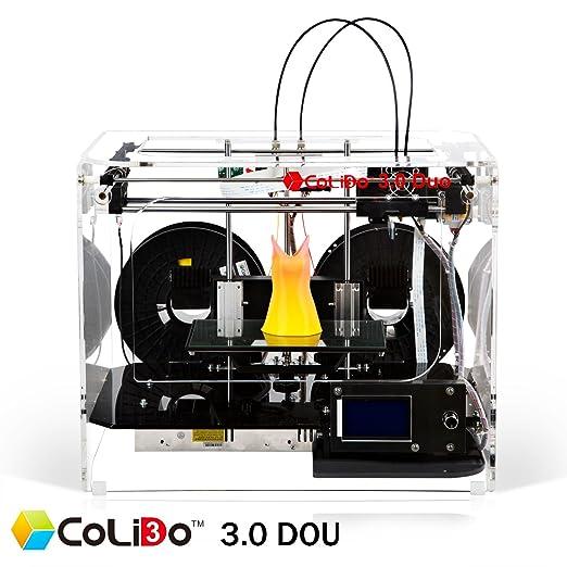 Colido 3d impresora, 3.0 duo-wifi: Amazon.es: Industria, empresas ...