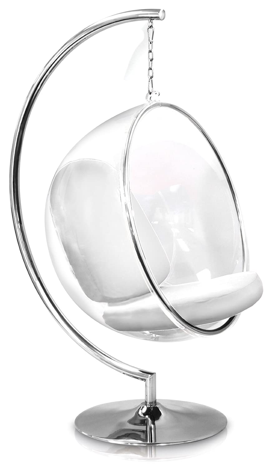 Eero Aarnio Bubble Chair With White Seat Cushion + Indoor Stand: Amazon.ca:  Home U0026 Kitchen