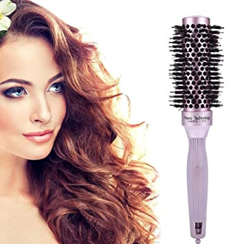 Amazon Com Ceramic Hair Styling Comb Anti Static Nano Ionic