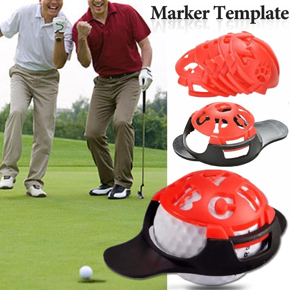 Amazon Topaty 6 In 1 Golf Ball Marker Template Drawing