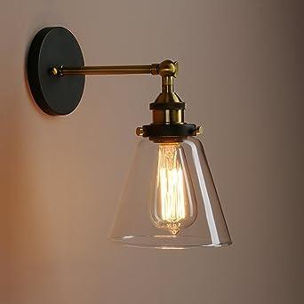 Louvra Applique Murale Intérieur Edison E27 Lampe Industrielle ...