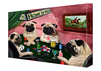 Pugs playing poker csgo roulette sites for poor