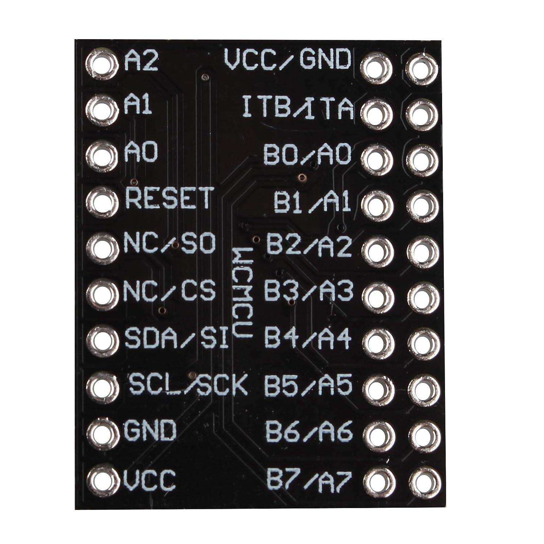 HALJIA MCU-2317 MCP23017 I2C Serial Interface 16 Bit I//O Expander Serial Interface Module