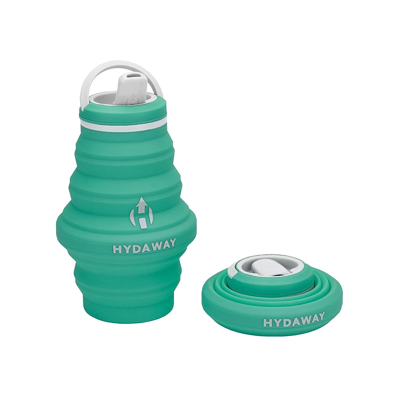 HYDAWAY 折りたたみ式ウォーターボトル 18オンス 注ぎ口蓋 超パッカブル 旅行 使いやすい 食品グレードシリコン B07JBMP8Y8 ミスト(Mist) ミスト(Mist)