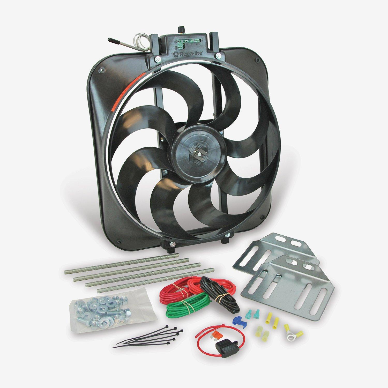 Flex A Lite 160 Black Magic Electric Fan Blade Automotive Wiring Diagram