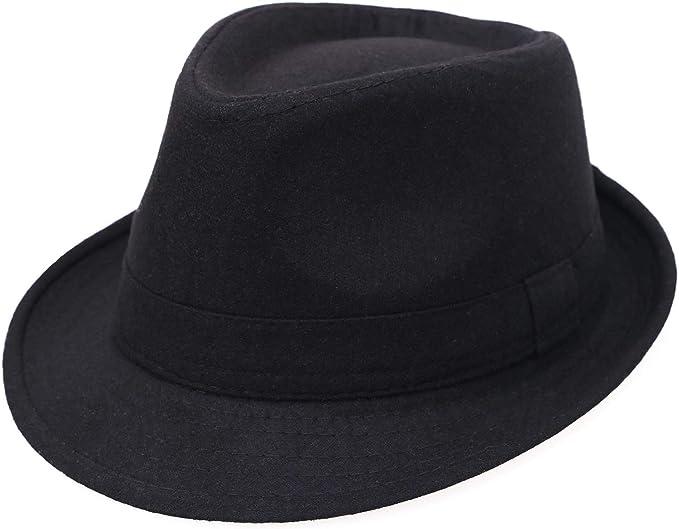 How to choose hats for balding men - Manhattan Black Fedora