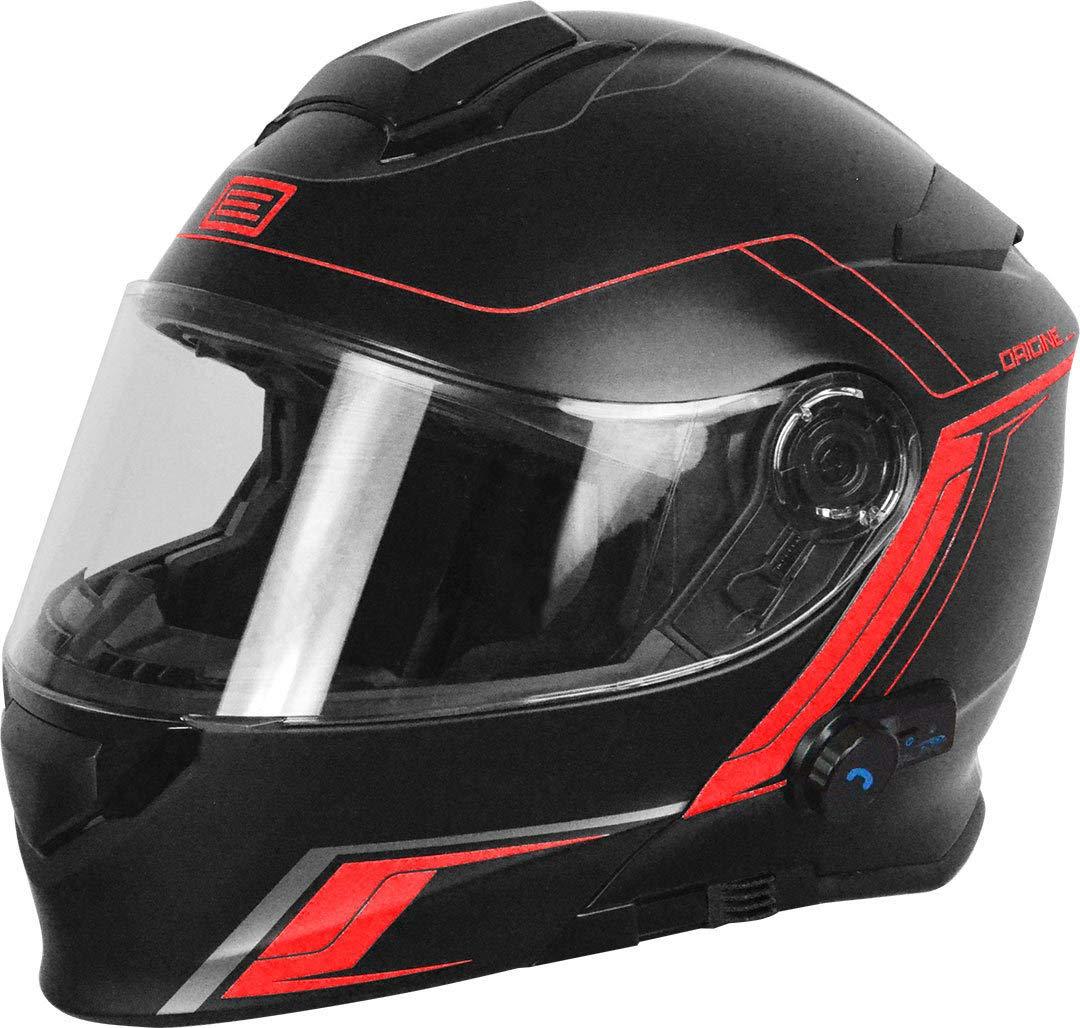 S. Casco desmontable con bluetooth integrado Origine Helmets 204271727100103/Delta Motion Matt rojo