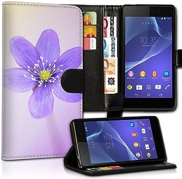 wicostar Portatil Style Sony Xperia Z3 Premium de PU Piel Flip ...