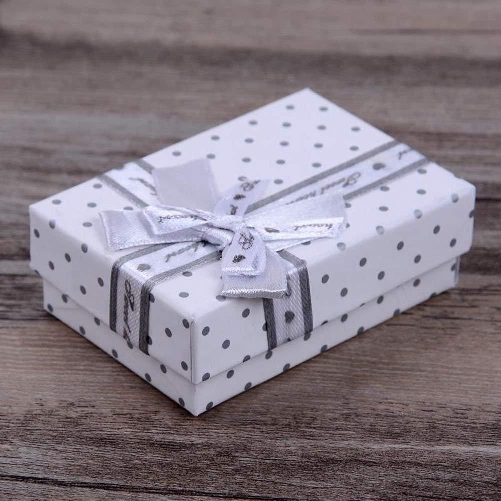 Havil scatole regalo gioielli regalo casse regalo scatole braccialetto anello orecchini collana Holder White