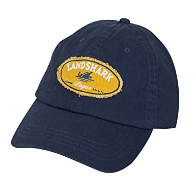 21fb1dc0c42 Image Unavailable. Image not available for. Color  Landshark Adjustable  Navy Hat