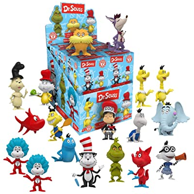 Display Case of 12: Funko Dr. Seuss Mystery Mini Toy Figure: Toys & Games