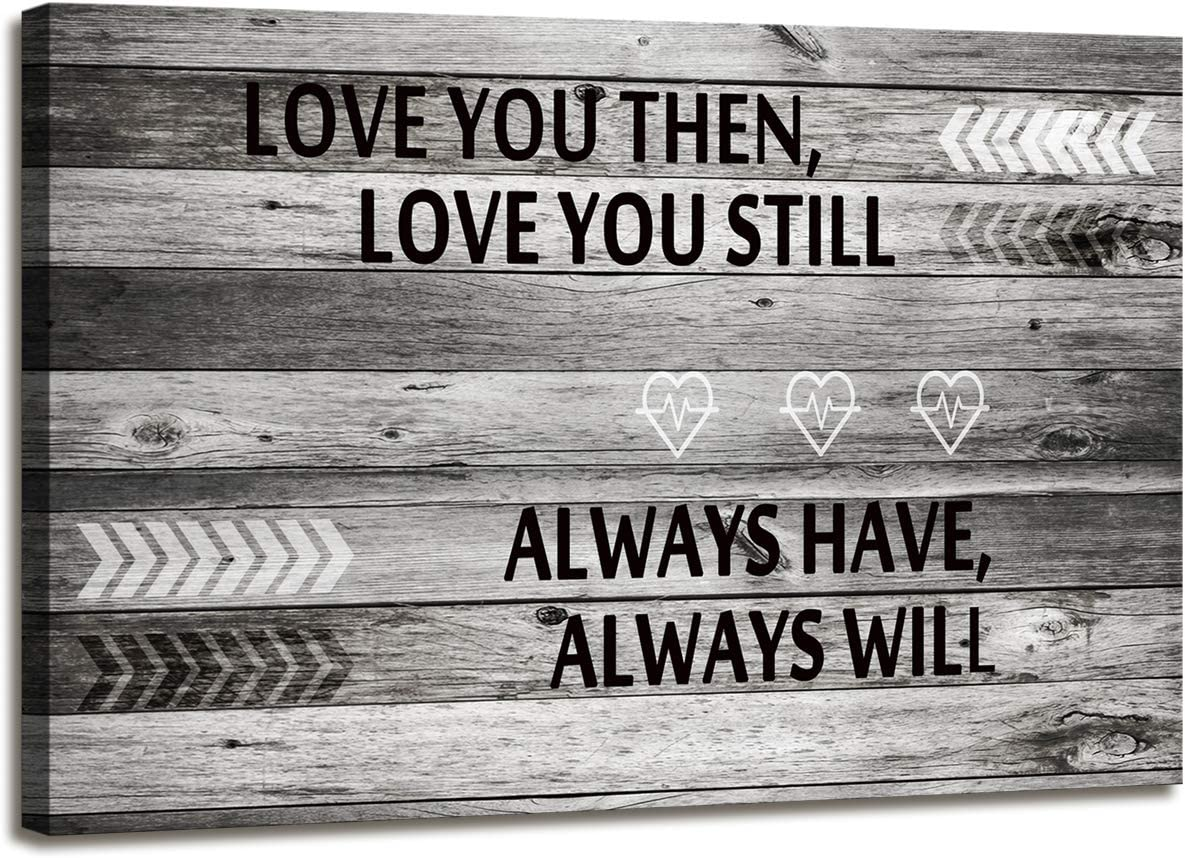 A71869 Canvas Wall Art Love You Still Large Wall Art (Ready to Hang) for Master Bedroom Wall Decor