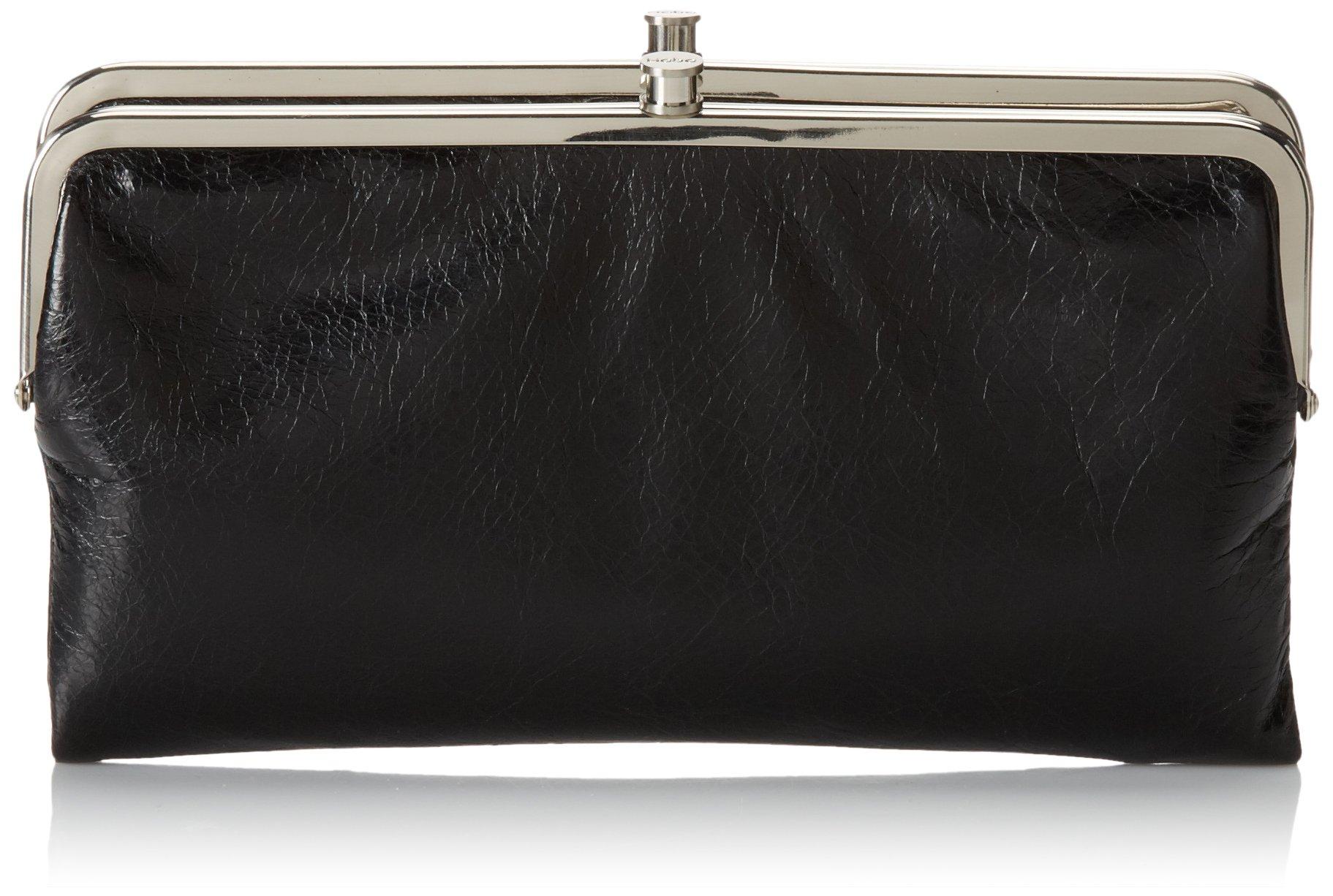 HOBO Vintage Lauren Wallet ,Black, One Size by HOBO