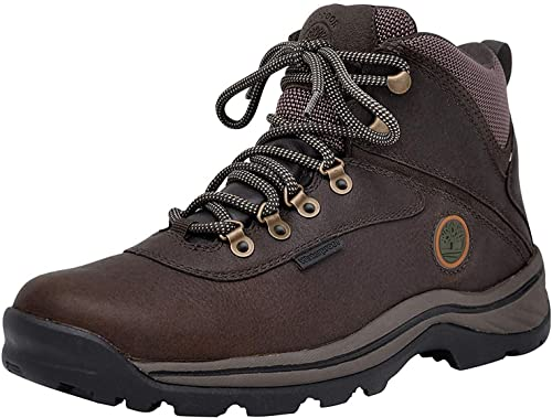 Timberland Men's Boot Ledge Mid Waterproof White Hiking shxBtdoQrC