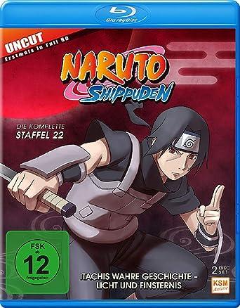 Naruto Shippuden Staffel 22 Itachis Wahre Geschichte Licht Und