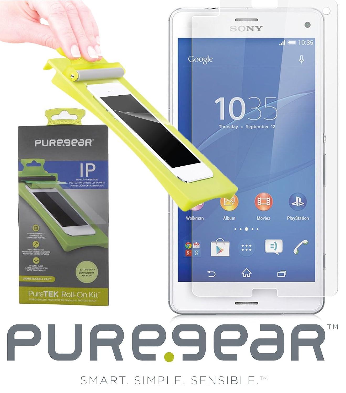 Amazon.com: Sony Xperia M4 Aqua Screen Protector, PUREGEAR ...