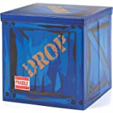 """Large Loot Drop Box Accessory (14"""" x 14"""" x 14"""") - Goes With Merch Like Pickaxes, Guns, Costumes - Perfect Decoration Gift For Gamers, Boys, Parties CAMP LINER"""