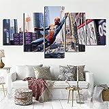 部屋飾り 壁キャンバス絵画 (木枠付きの完成品 30x50cmx3) ポスター 壁飾り アイアンマン 壁掛け 現代壁の絵 DOLUDOアートパネル 3パネルセット