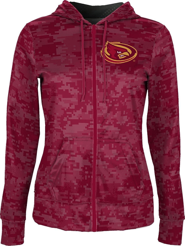 School Spirit Sweatshirt ProSphere Iowa State University Girls Zipper Hoodie Digi Camo