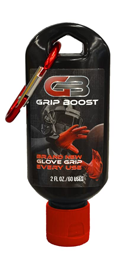 Grip Boost Football Glove Grip Gel Bottle - 2 oz  Bottle - Restores Used  Football Gloves Sticky Gel for Football