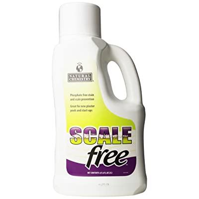 Natural Chemistry Scale Free, 2-Liter : Swimming Pool Stain Removers : Garden & Outdoor