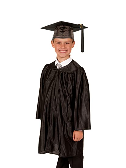 Amazoncom Elementary School Graduation Gown And Cap Shiny Clothing