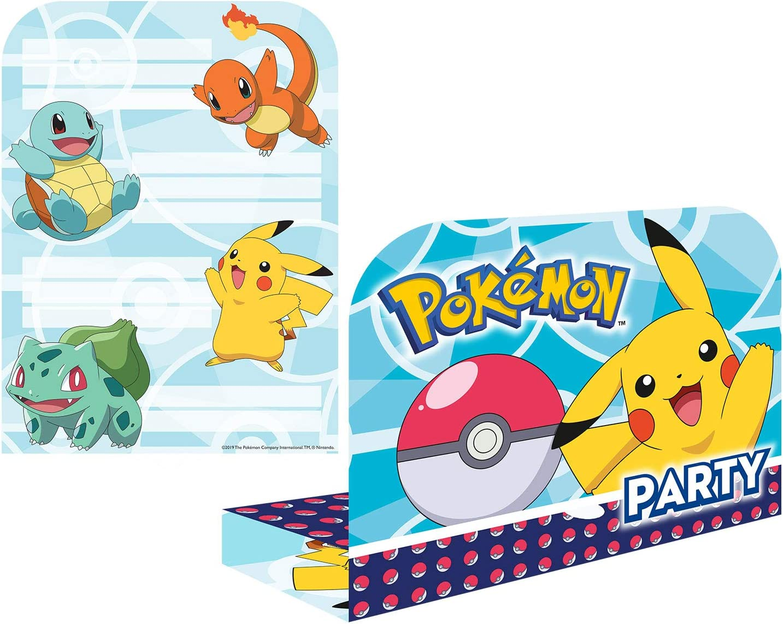 Amscan International Amscan 9904824 Party-T/üten 8 St/ück Pokemon