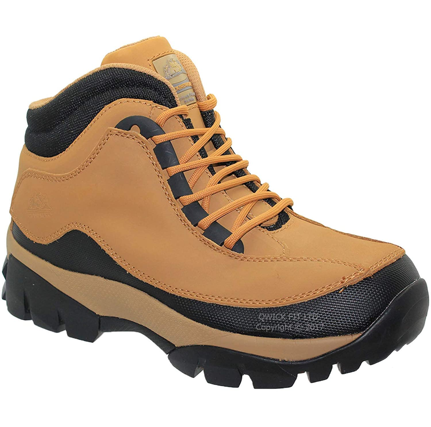 PPE MENS LADIES WOMENS GROUNDWORK STEEL TOE CAP SAFETY WORK BOOTS SHOES TRAINERS