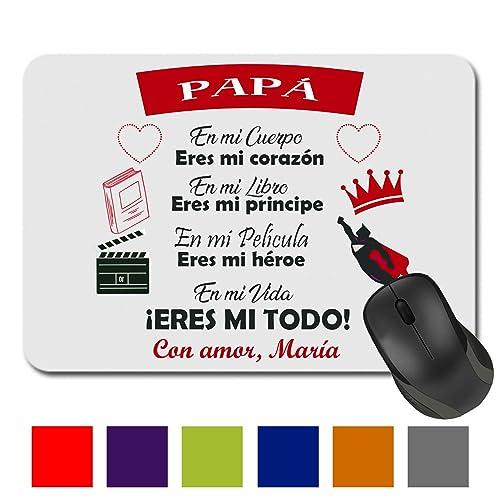 Alfombrilla Ratón/Regalo Original/Padre/Papa/Hombre/Chico/Cumpleaños/Original