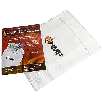 HMF 44141 Caja para documentos, carpeta para documentos, cartera para documentos DIN A4, 38,5 x 26 cm: Amazon.es: Hogar
